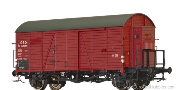 Brawa 47942 Covered Freight Car Zr CSD