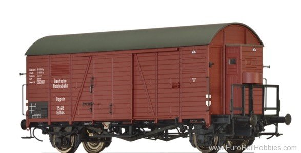 Brawa 47947 Covered Freight Car Grhhs 30 DRG
