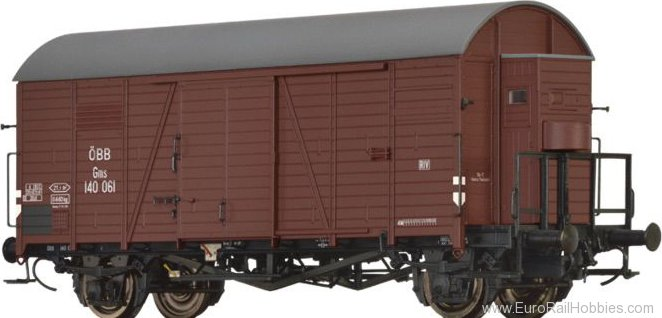 Brawa 47952 Covered Freight Car Gms ÖBB