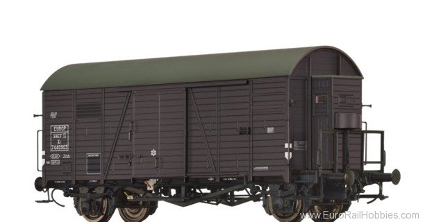 Brawa 47953 Covered Freight Car Kr SNCF / EUROP