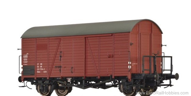 Brawa 47955 Covered Freight Car Hkms DR