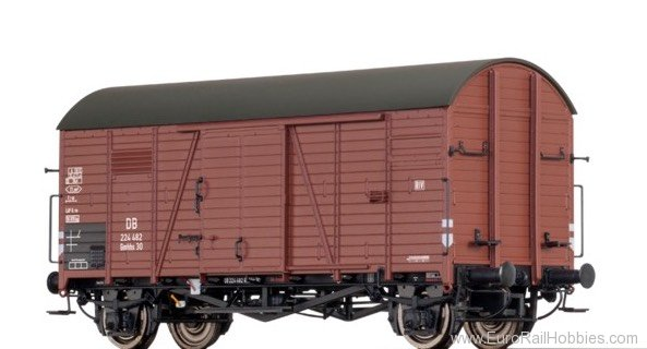 Brawa 47958 Covered Freight Car Gmhhs 30 DB