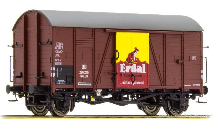 Brawa 47964 DB Covered Freight Car Gms 30 'ERDAL' - Speci