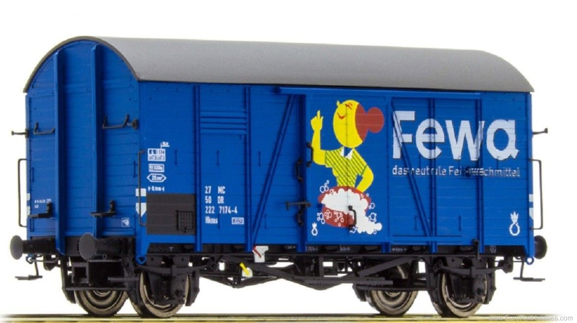 Brawa 47965 DR Covered Freight Car Gms 30 'Fewa' - Specia