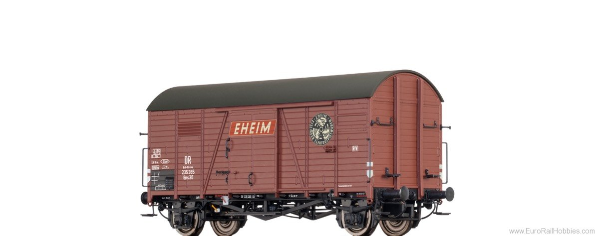 Brawa 47974 COVERED FREIGHT CAR GMS 30 'EHEIM ESSLINGER E