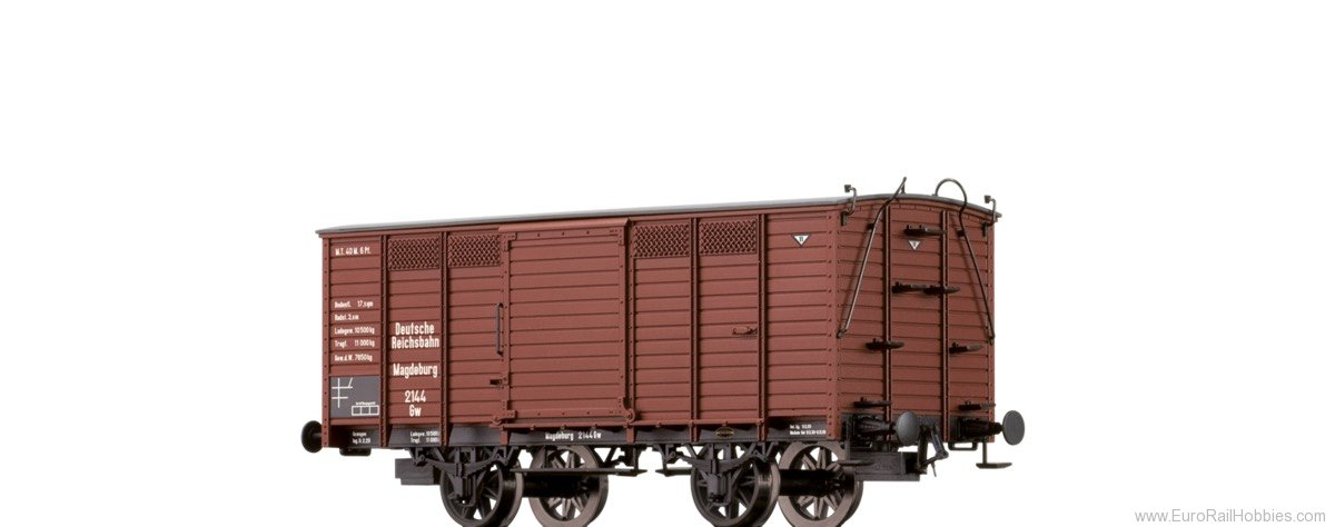 Brawa 48028 Covered Freight Car Gw DRG