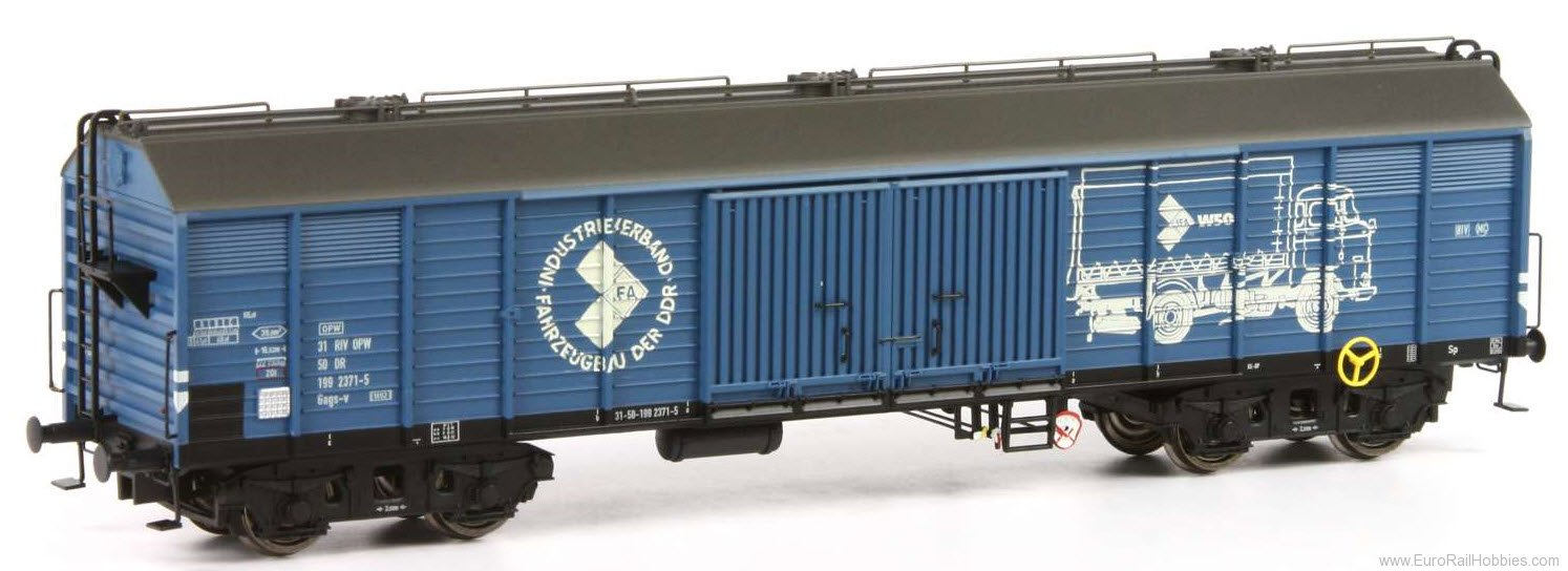 Brawa 48390 2017 Toyfair HO Freight Car Gags DR, IFA Excl