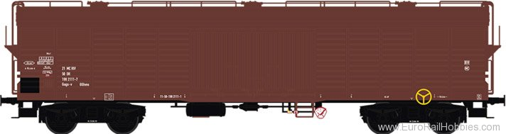 Brawa 48396 Covered Freight Car Gags-v DR