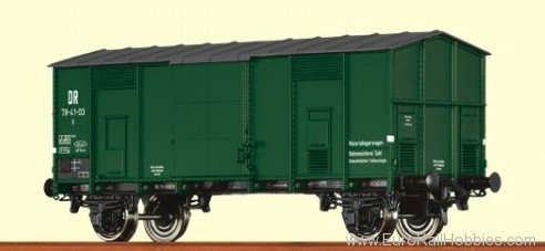 Brawa 48561 Covered Peak Roof Car G DR
