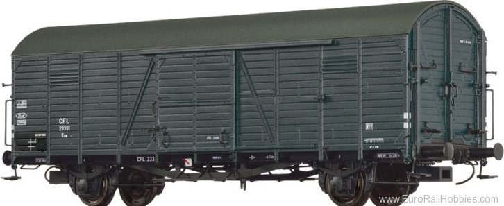 Brawa 48721 Covered Freight Car Kuw CFL