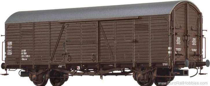 Brawa 48722 Covered Freight Car Hbcs-w ÖBB
