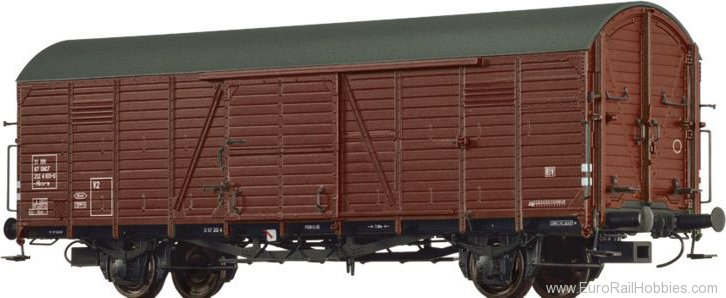 Brawa 48723 Covered Freight Car Hbcs SNCF