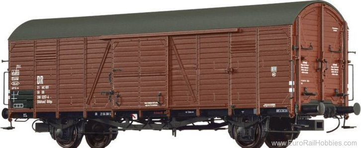 Brawa 48730 Covered Freight Car (Ghltuw) Glthu DR