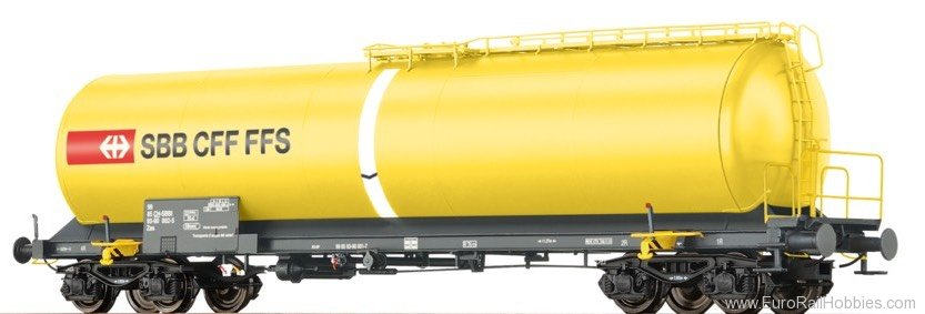 Brawa 48764 H0 Tank Car Zas SBB, VI, Water Transport