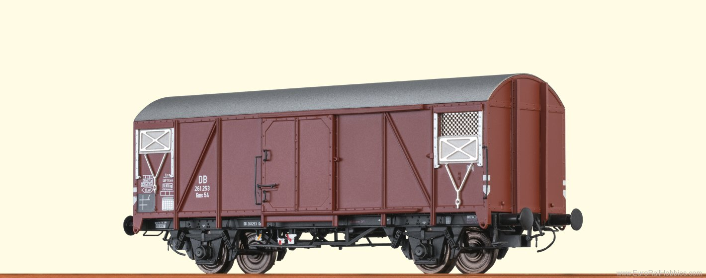 Brawa 48819 DB Covered Freight Car Gms54