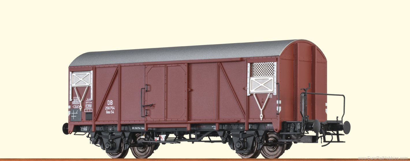 Brawa 48820 DB Covered Freight Car Gms54
