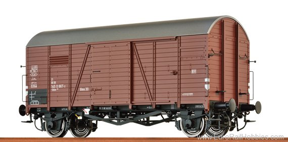 Brawa 48828 Covered Freight Car Gms 30 'Oppeln' DB