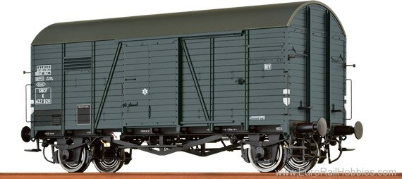 Brawa 48838 Covered Freight Car Gms 30 SNCF