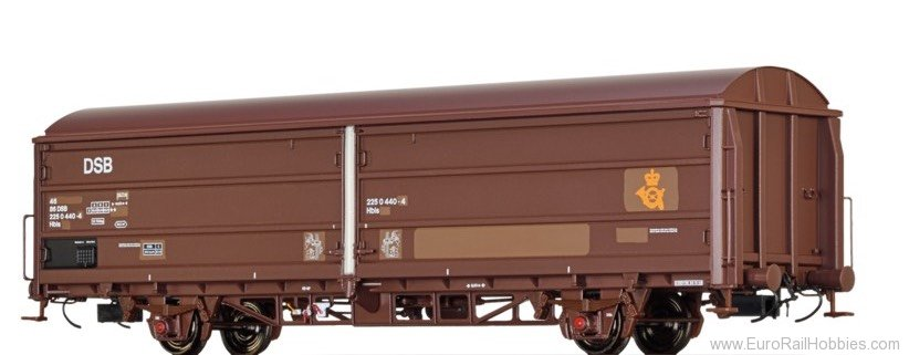 "Brawa 48978 Covered Freight Car Hbis ""Post"" DSB"
