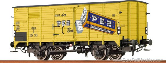 Brawa 49057 Covered Freight Car G 10 PEZ OBB