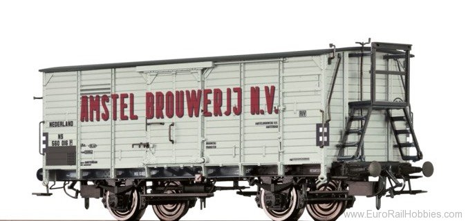 "Brawa 49062 Covered Freight Car G10 ""Amstel Brouweri"