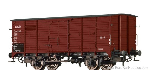 Brawa 49067 Covered Freight Car Z CSD