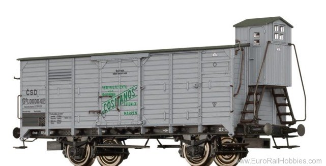 Brawa 49092 CSD Covered Freight Car Gg 'Cosmanos'