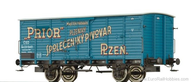 Brawa 49093 CSD Covered Freight Car Gb ''Prior''