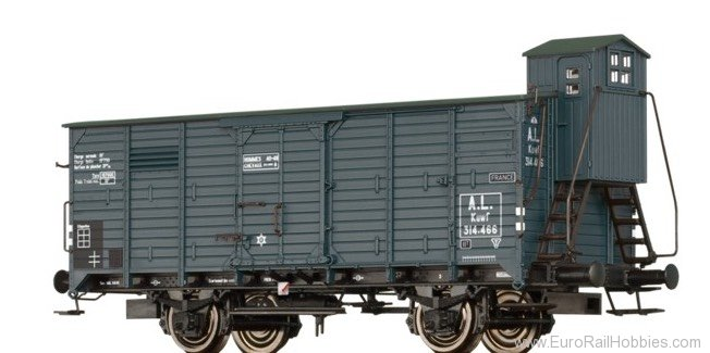 Brawa 49094 Covered Freight Car Kuwf A.L.
