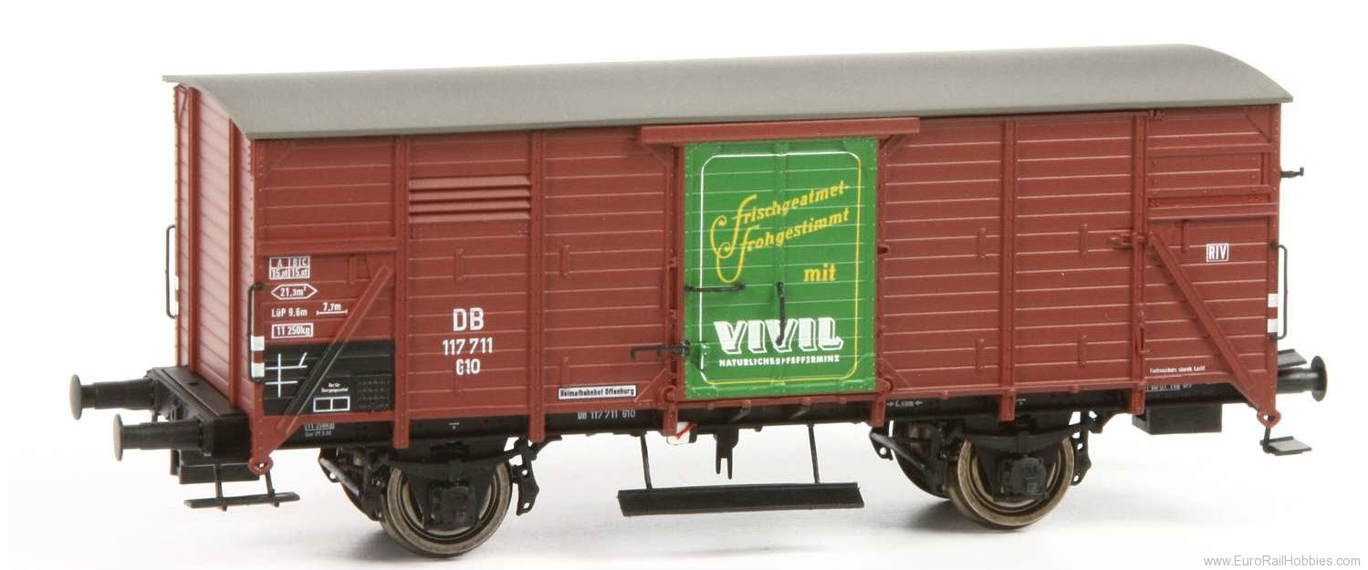 Brawa 49096 2017 Toyfair HO DB Covered 'Vivil' Freight Ca