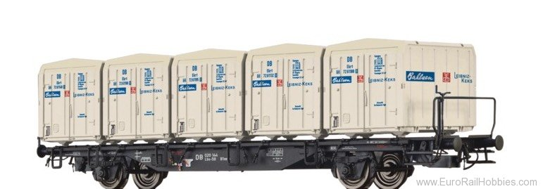 Brawa 49124 Container Car Lbs-58 DB, with Ekrt 212 ""