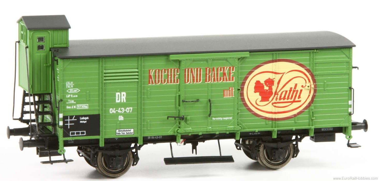 Brawa 49702 2017 Toyfair HO DB Covered 'Kathi' Freight Ca