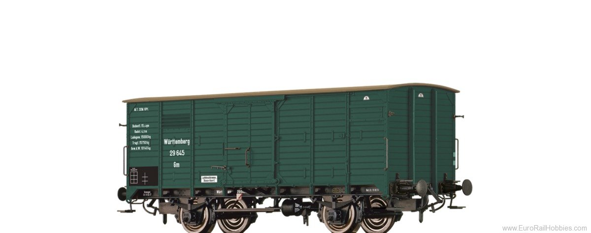 Brawa 49722 Covered Freight Car Gm K.W.St.E.