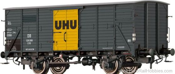 Brawa 49739 Covered Freight Car G10 'UHU' DB