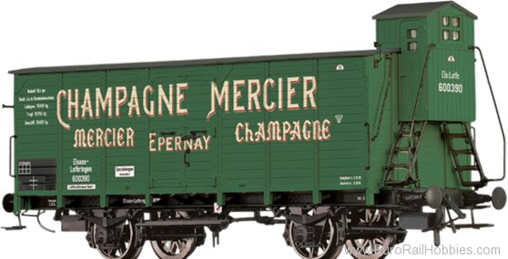 Brawa 49775 Covered Freight Car Champagne Mercier Elsa�