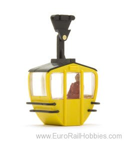 Brawa 6279 Gondola single, yellow  for Brawa 6280