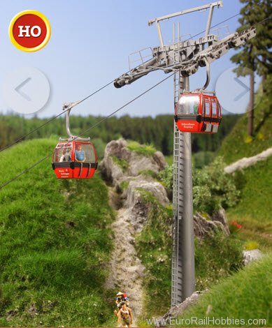 Brawa 6344 Hahnenkamm Cable Railway - 2 Additional Gondo