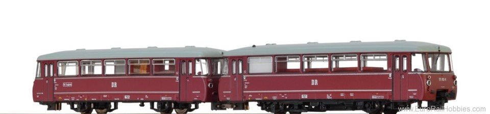 Brawa 64304 Diesel Railcar VT171 DR, with panorama window