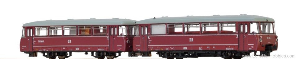Brawa 64305 Diesel Railcar VT171 DR, with panorama window
