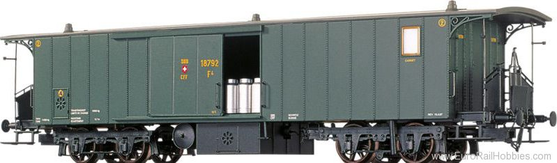 Brawa 65012 Luggage Coach SBB