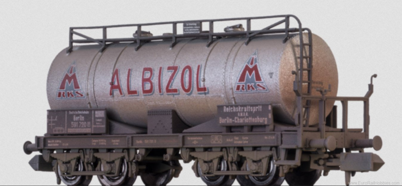 Brawa 67070 DB Albizol Tank Car, Special Weathered Editio