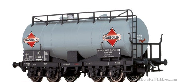 "Brawa 67072 Tank Car ZZ [P] ""Gasolin"" DB"