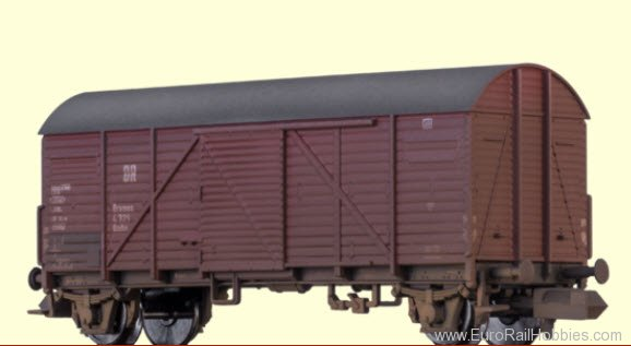 Brawa 67306 DRG Freight Car Gmhs 35, Special Weathered Ed