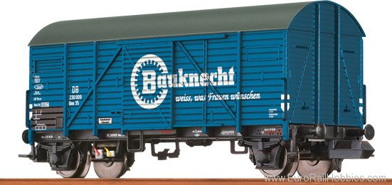 Brawa 67308 Covered Freight Car Gms 35 Bauknecht DB