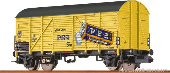 Brawa 67309 Covered Freight Car Gms 35 PEZ DB