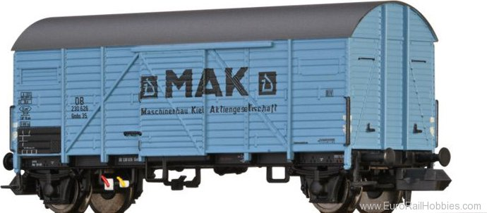 Brawa 67326 Covered Freight Car Gmhs 35 'MaK' DB