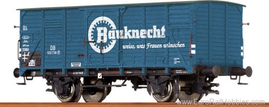 Brawa 67417 Covered Freight Car G 10 Bauknecht DB