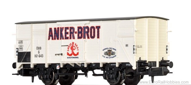 "Brawa 67422 Covered Freight Car G ""Anker Brot"""
