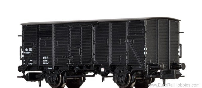 Brawa 67428 Covered Freight Car Qc GDS