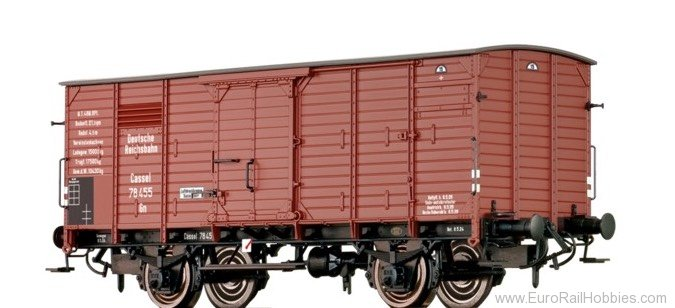 Brawa 67441 Covered Freight Car Gn DRG